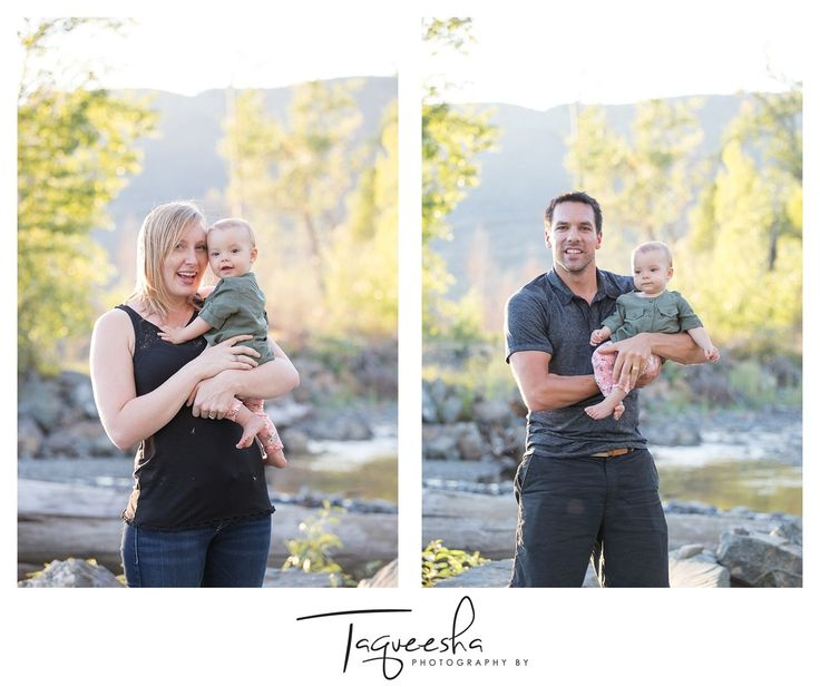Photos with mom and dad, family photo session in the summer, beautiful evening light.