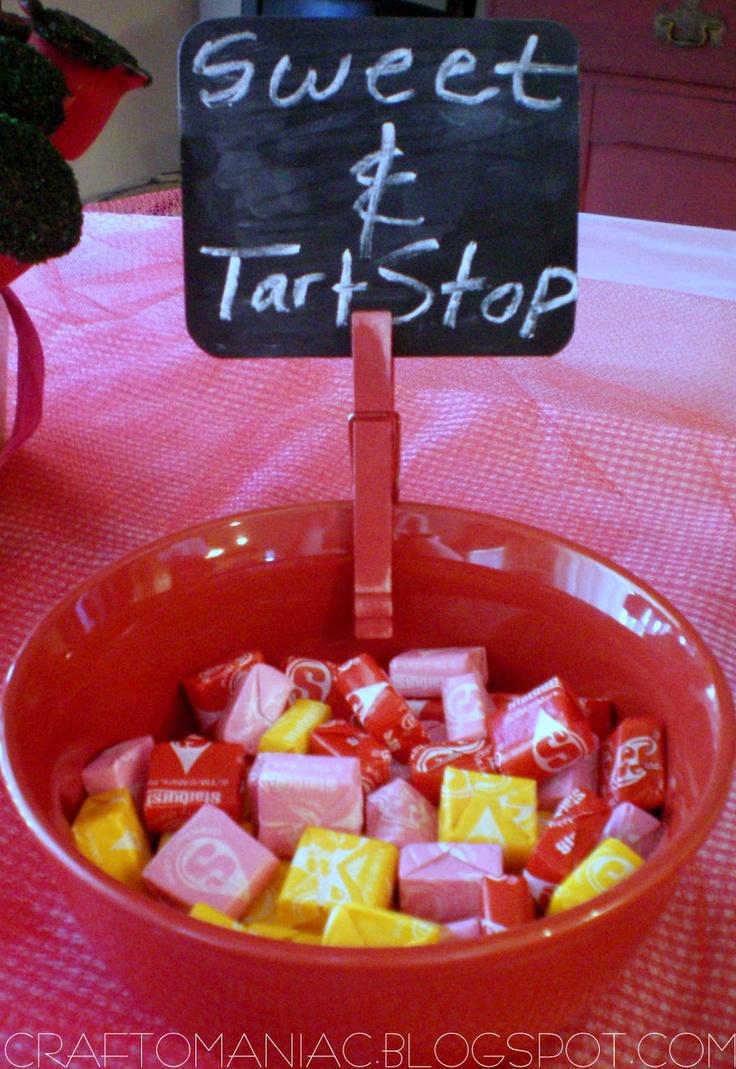 Craft-O-Maniac: {{{Strawberry Shortcake Party Pics.}}}