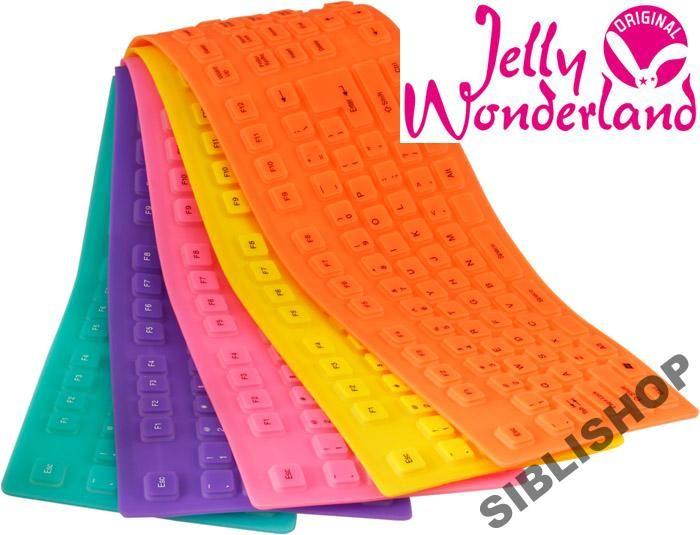 klawiatura JELLY silikonowa gumowa wodoodporna N7 (4784699752) - Allegro.pl - Więcej niż aukcje.