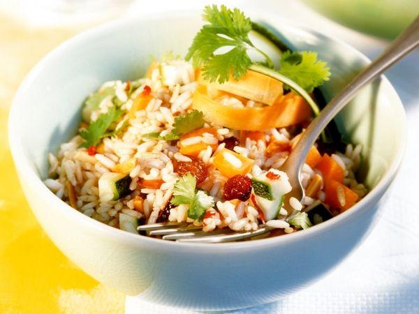 Pikante rijstsalade - Libelle Lekker!