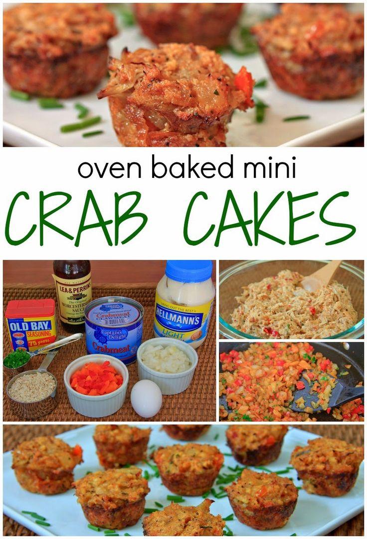 Prepping Parties Mini Crab Cakes Baking Mini Crab