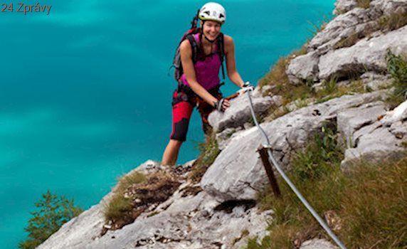 Českou horolezkyni musel v Rakousku zachraňovat vrtulník: Při náročném výstupu jí došly síly
