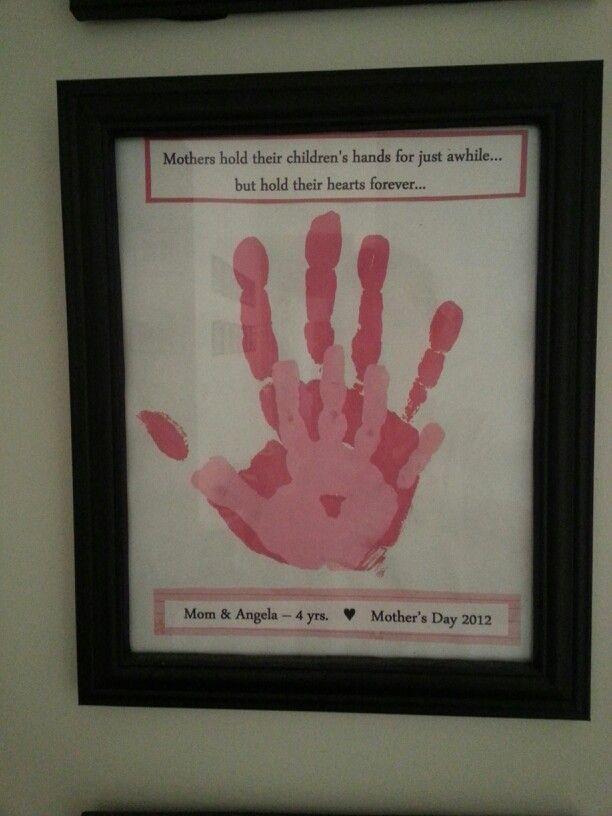 Handprint Picture Frame