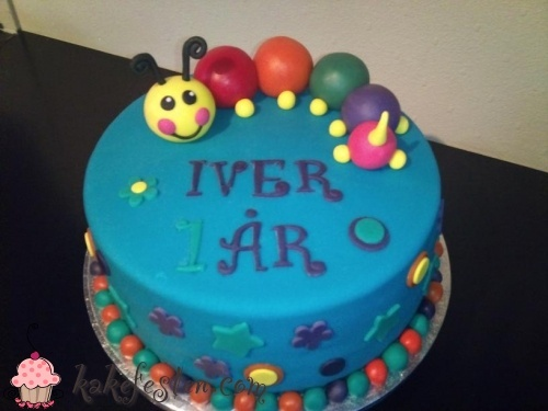 Galleri - Kategori: Bursdag gutt - Bilde: 1 Års kake