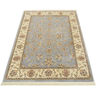 Buy classic jaipur silk effect runner duckegg 65 x for Door mats argos