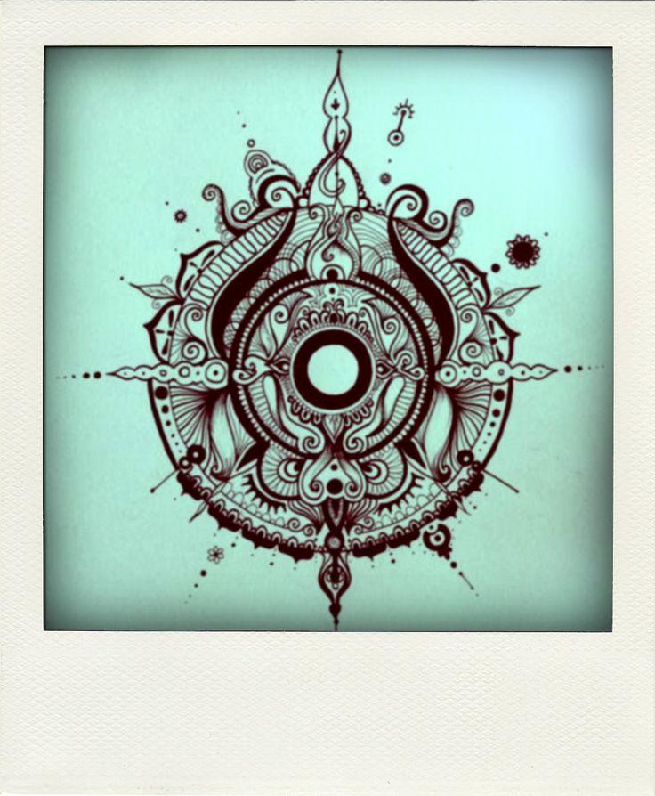 Dise os mandala meditaci n por capas de adentro hacia for Disenos de mandalas
