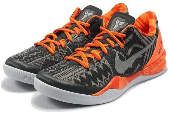 http://www.asneakers4u.com Nike Zoom Kobe 8 VIII  BHM System Shoes Black/Orange2