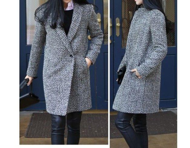 Lange Mäntel - Oversize-Mantel - jungenhaft -MM04 Wolle - ein Designerstück von Lie-ly-et-Za-mong bei DaWanda