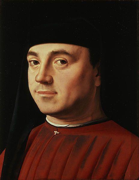 Antonello da Messina, Portrait of a Man, 1474-75, Rome, Galleria Borghese
