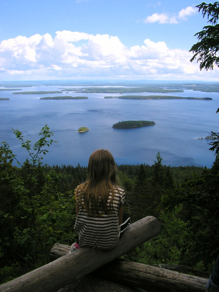 Koli, North-Karelia. One of most beautiful views in our country.