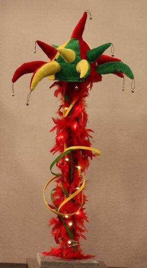carnaval object 12, hoogte ca 80 cm - Parkstad Bloembinderij