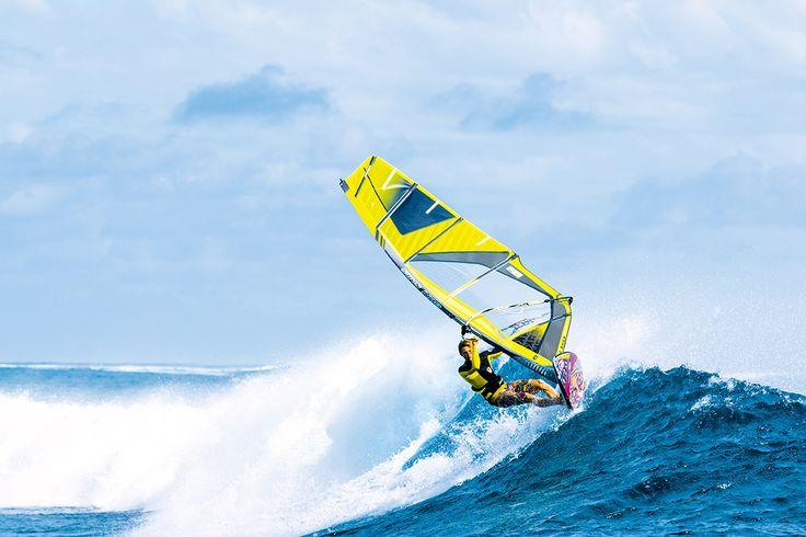 Peak 2016: The radical wave sail  #gunsails #Windsurfen #Segel #Mauritius
