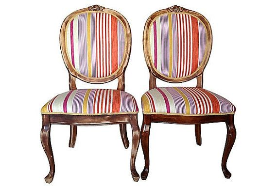 Dining Room Chair Fabric Ideas: 17 Best Images About Vintage Dining Room Chair Upholstery
