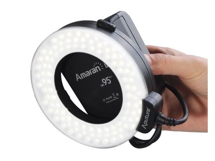 Köp Aputure Ringblixt LED Amaran Halo HN100 till Nikon hos Scandinavian Photo i Sverige