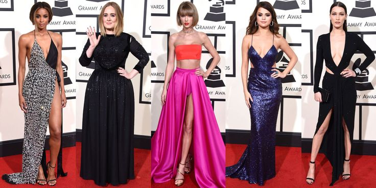 Best Dressed at the 2016 Grammy Awards