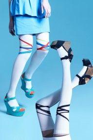 topics knee socks bondage