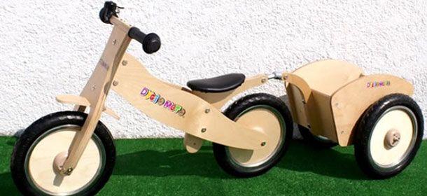 Childs Balance Bike and Trailer