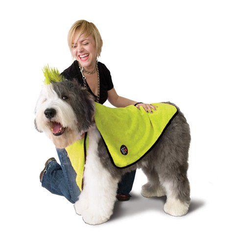 Shampooing et toilettage - Serviette microfibre pour chiens