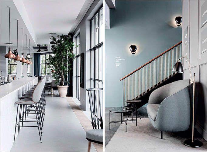 A Danish Scandinavian Style Restaurant Cotton Casa In 2020 Recreational Room Room Colors Room