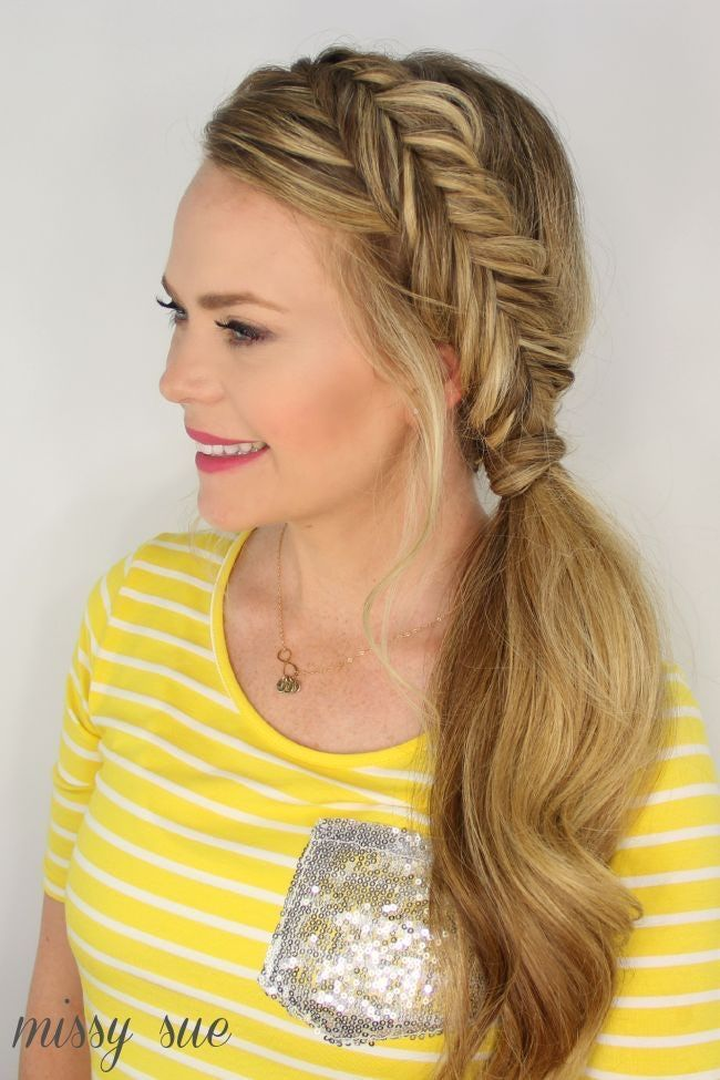 Gorgeous Braided Hairstyles and Tutorials! Here are numerous braid styles for bu…