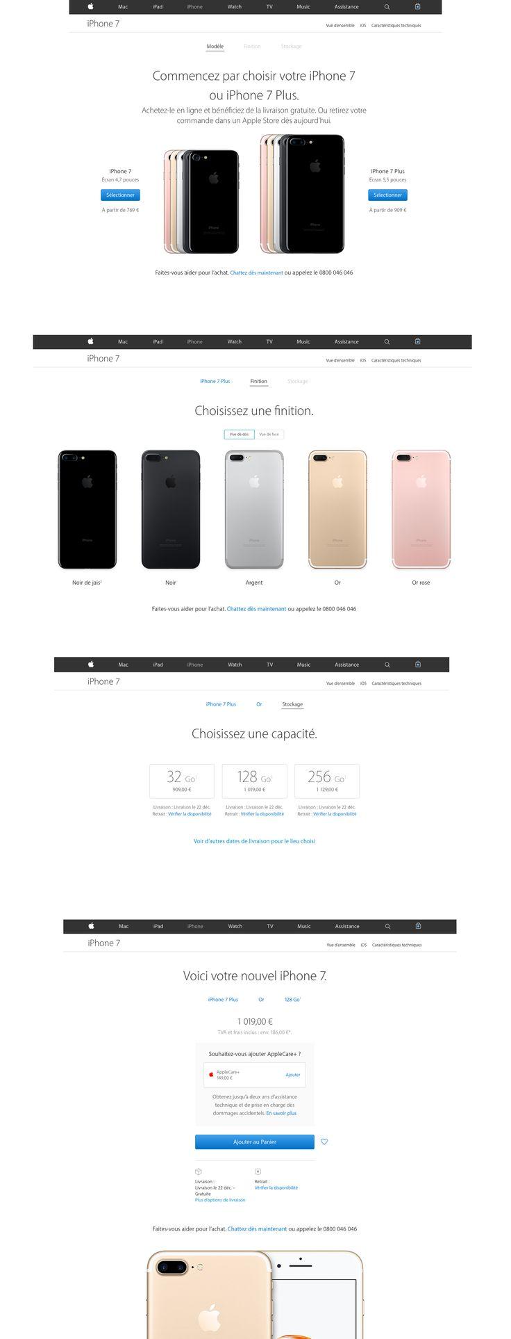 Apple iPhone online configuration