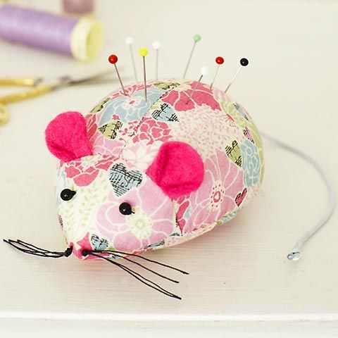 How to make a mouse pincushion :: Free sewing patterns :: UK sewing patterns :: allaboutyou.com