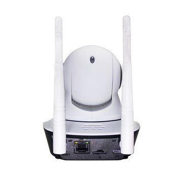 ESCAM G02 Dual Antenna 720P Pan/Tilt WiFi IP IR Camera Support ONVIF Max Up to 128GB Video Monitor Sale - Banggood.com