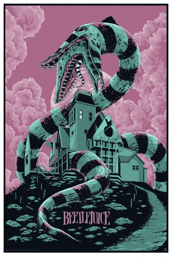 #Movie #poster Beetlejuice by Ken Taylor #graphic #design #illustration #cinema