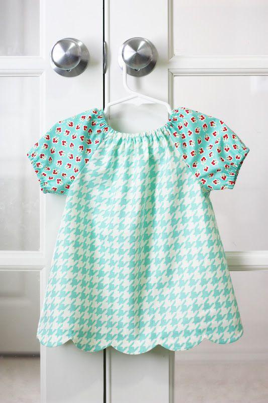 Polly Peasant Dress & Blouse PDF Pattern