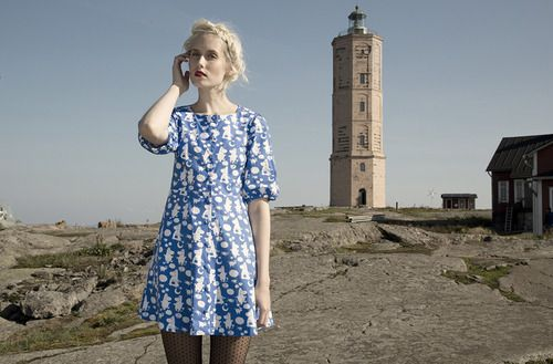 Ivana Helsinki moomin dress