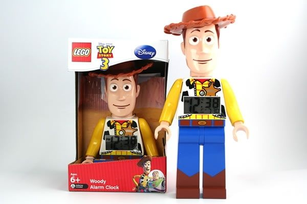 Woody Alarm Clock - LEGO Toy Story 3 #NeatoPinToWin