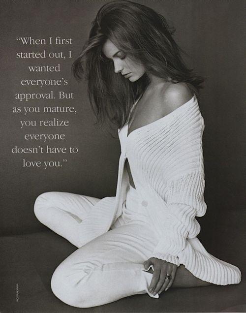 """10 Most Beautiful Women"", Harper's Bazaar US, June 1992Photographer: Rico PuhlmannModel: Paulina Porizkova"