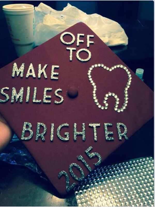 Graduation cap; dental hygiene