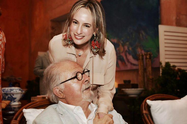 Con Fernando Botero