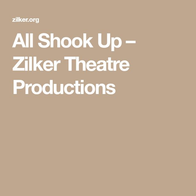 All Shook Up – Zilker Theatre Productions