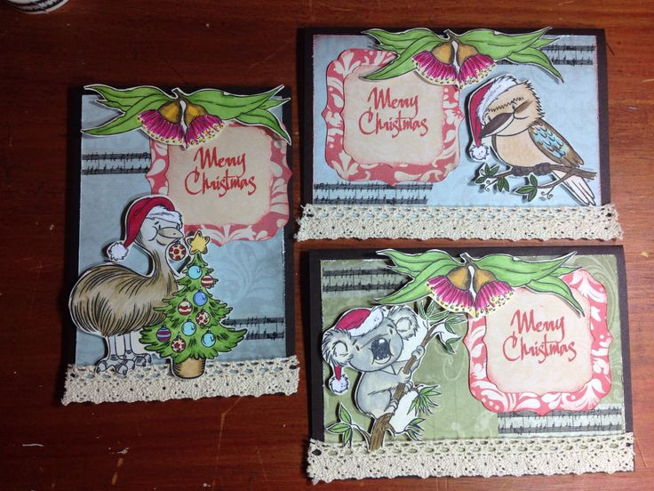 Aussie Chrissy cards kaszazz