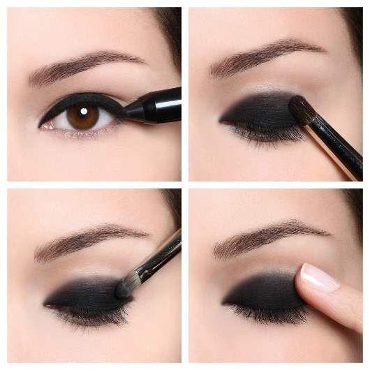 tips de maquillaje para ojos ahumados paso a paso con fotos