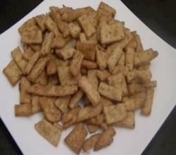 How to Make Namak Pare (Matri): Indian Snacks Recipe Video by Eat East Indian   ifood.tv
