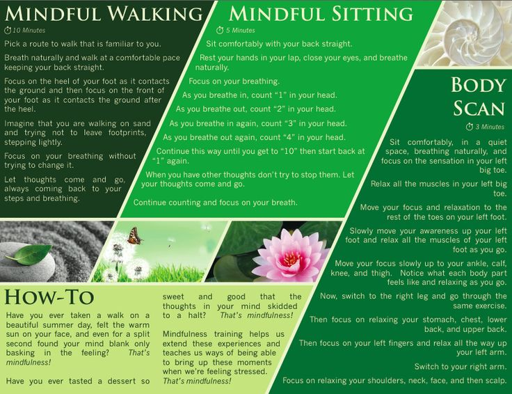 Free #Mindfulness #Exercise brochure at http://bit.ly ...