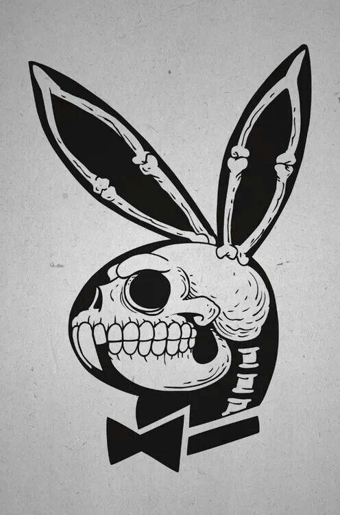 Les 25 meilleures id es de la cat gorie pochoir de t te de for Rabbit tattoo kit