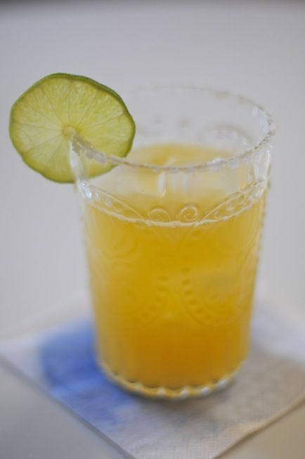 Orange-Lime Margaritas.....By Cupcakes and Cashmere