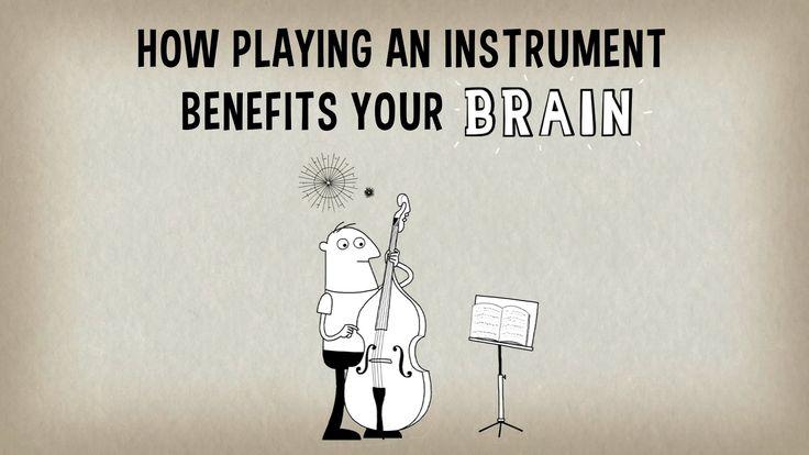 """Jak gra na instrumencie poprawia pracę twojego mózgu? Gdy słuchasz muzyki uaktywniają się różne obszary twojego mózgu. Kiedy jednak grasz na instrumencie aktywność ta staje się bardziej całościowym treningiem mózgu. Co się wtedy dzieje? Anita Collins wyjaśnia """"serię fajerwerków"""" opanowującą mózg muzyka podczas gry oraz długotrwałe pozytywne efekty takiego treningu umysłowego. (napisy PL)"""