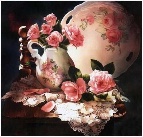 roses and lace (Arleta Pech)