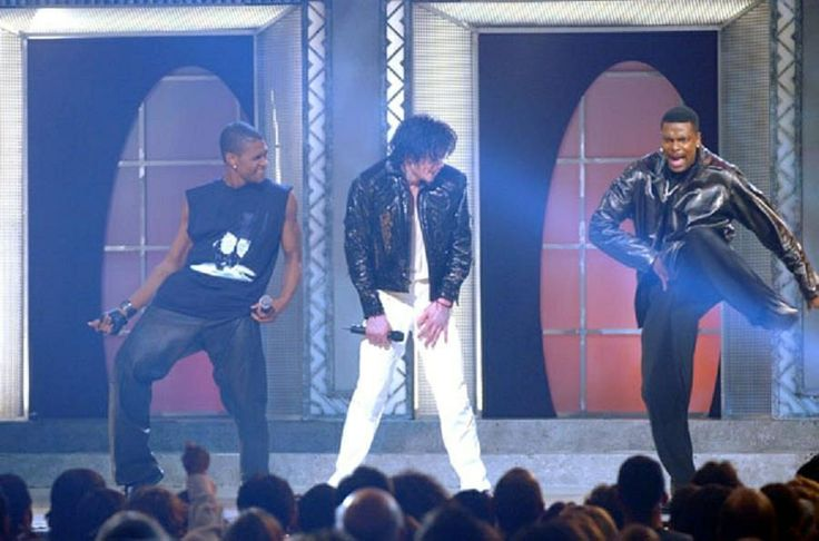 Michael Jackson, Usher, and Chris Tucker