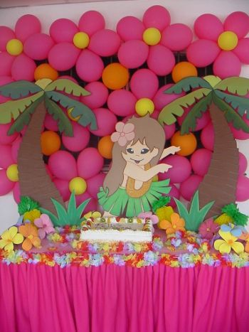 pictures decoracion fiesta hawaiana espaa productos luau pictures
