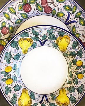 Bonechi Imports (@bonechiimports) on Instagram: Frutta Deruta Italian Ceramics