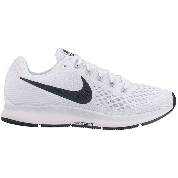 Nike Women's Women's Air Zoom Pegasus Sneakers (355 PEN) ❤ liked on Polyvore featuring shoes, sneakers, red, nike trainers, nike, rubber sole shoes, perforated sneakers and round cap