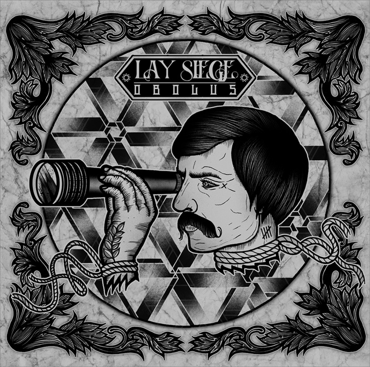Album Artwork I created for the band Lay Siege © 2012 Tom Gilmour http://www.tomgilmour.com https://www.facebook.com/tomgilmourillustration