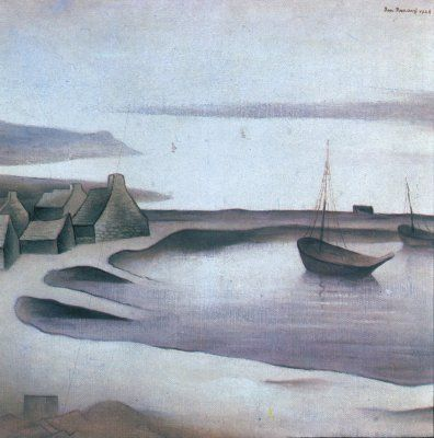Jan Zrzavý - Camaret (1927)  #art #Czechia #painting