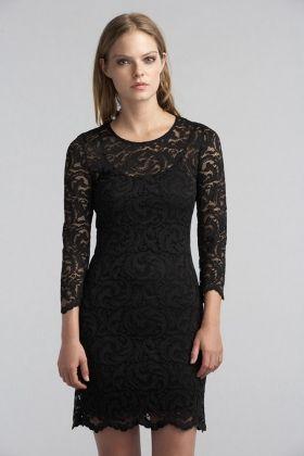 Elimina Stretch Lace Shift Dress, Velvet by Graham & Spencer Holiday 2013.